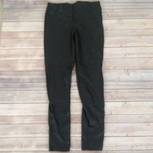 NWT H & M Fitted Faux Leather Pants Size 8